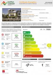 Certificado Energético – Edifício de Comércio e Serviços