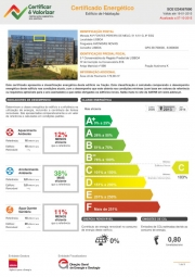 Certificado Energético - Edifício de Habitação